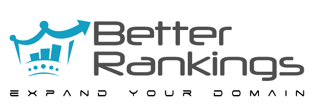 web-site-designer-logo-for-seo-company-in australia-and-new-zealand-with-blue-crown-and-slogan-expand-your-domain-better-rankings