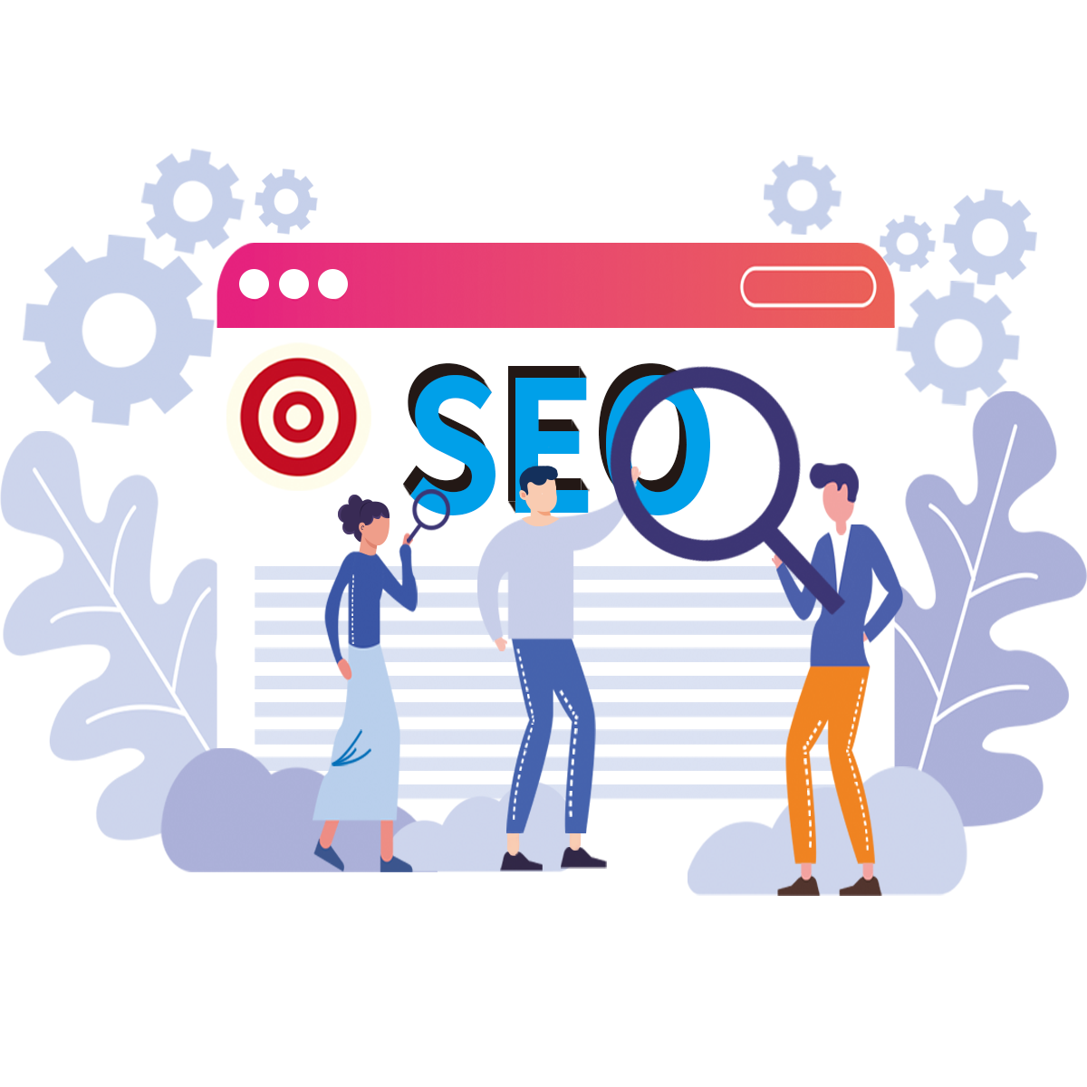 people-standing-in-front-of-seo-services-sign-in-australia-and-new-zealnad